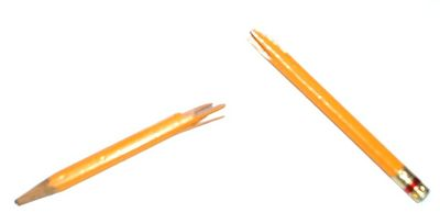 Your country is a lot like this pencil